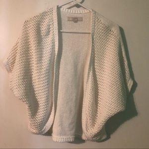 Loft shrug knitted cardigan